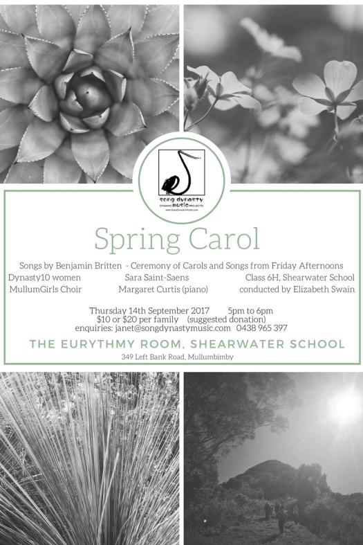 Spring Carol