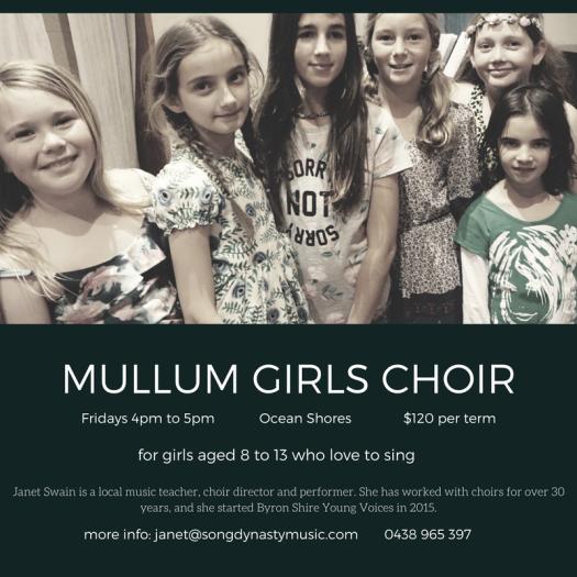 Mullum Girls Choir