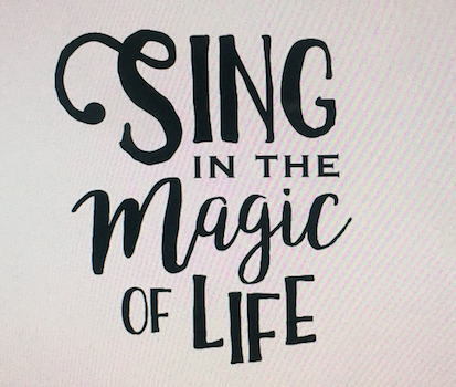 Sing in the Magic of Life Logo
