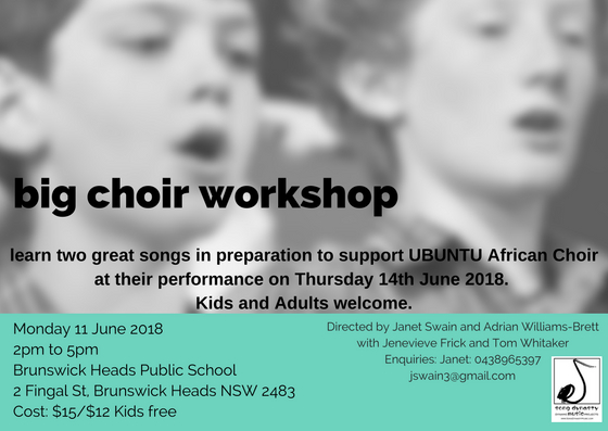 big choir workshop