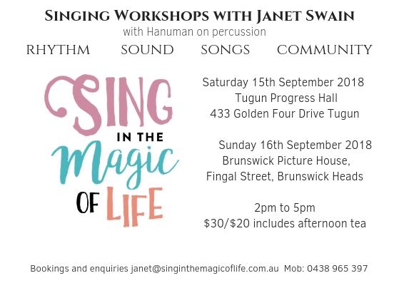 Singing workshop 2